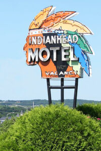 Indianhead Motel in Chippewa Falls, Wisconsin