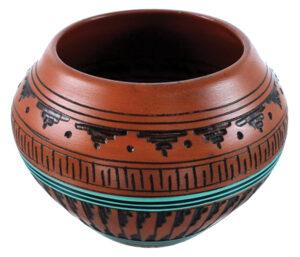 Example of Southwest style pottery