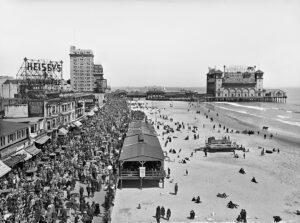 Atlantic City Boardwalk, 1920s