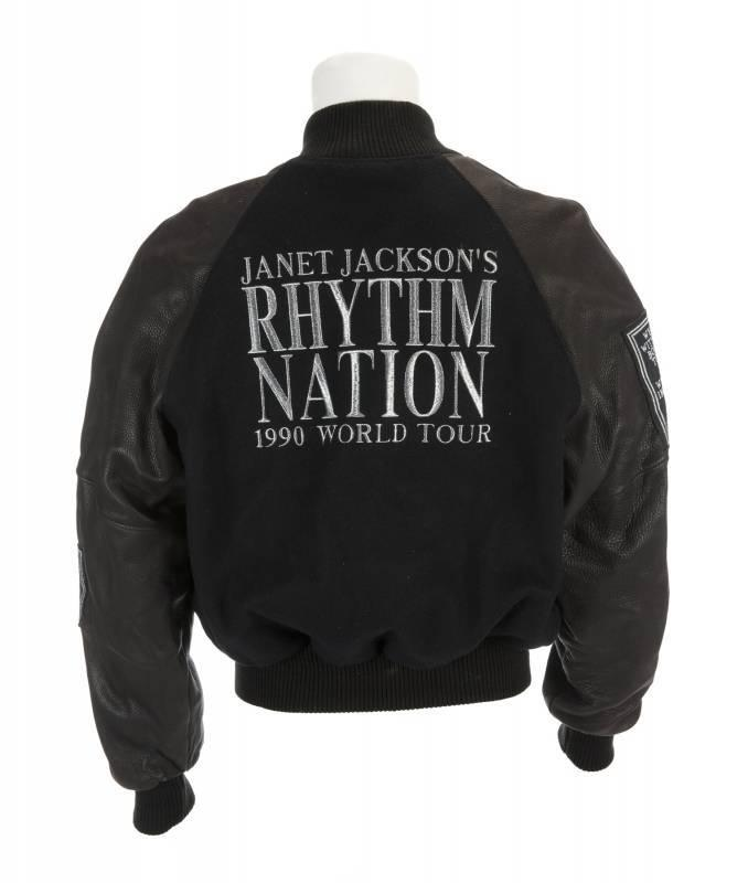 Janet Jackson jacket, $81,250, Julien's Auctions