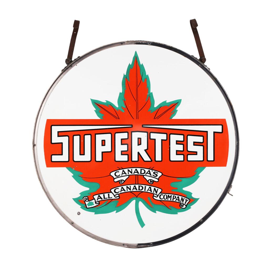 Supertest petroliana sign, CA$21,240, Miller & Miller