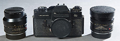 A Leicaflex 35mm camera with a Leitz Summicron 1: 2/90 lens and a Summilux lens 1:1.4/50, sold for $1,280 at a Summer Decorative Arts & Interiors Auction held June 18th by Crescent City Auction Gallery in New Orleans, LA