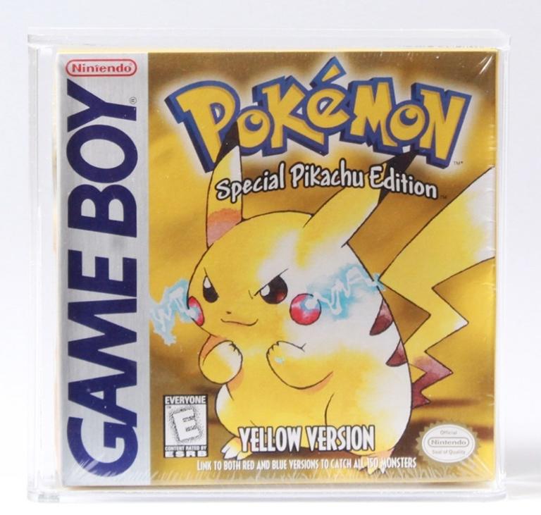 1999 Nintendo Pokémon Yellow CAS90 sold on April 4, 2020, for $750 photo: Bruneau & Co
