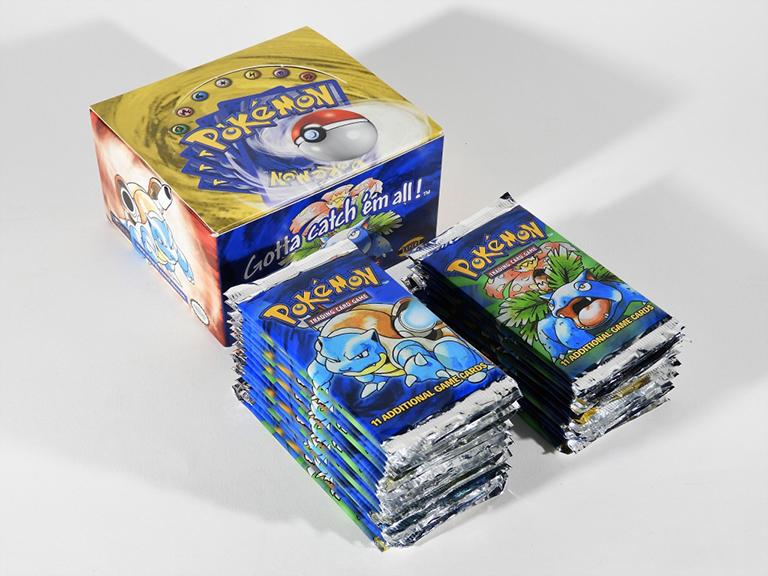 31-piece Pokémon Partial Base Booster Box, sold March 27, 2021, for $13,750 photo: Bruneau & Co.