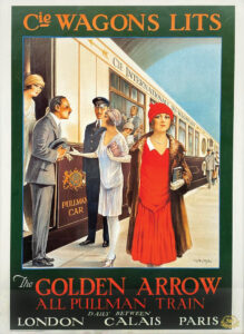 This All Pullman Train travel Poster sold for $50 at an online Bradfords auction in 2020 and shows Pullman's international prowess.