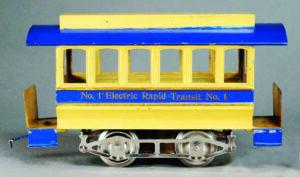 Lionel Early Standard Gauge trolley No.1