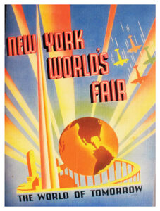 1939-40 New York World's Fair booklet containing 56 pages of The World of Tomorrow photos. (photo: Andy Kaufman, worldsfairauction.com)