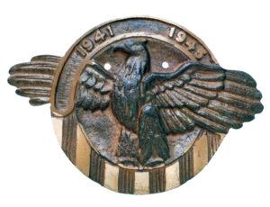 WWII Flag Holder