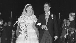 Eunice Kennedy and Sargent Shriver wed in 1953