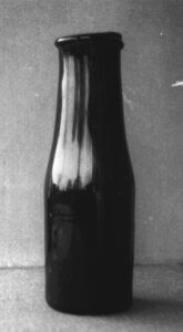 A preserved bottle from the Appert period Jean-Paul Barbier collection, Châlons en Champagne museum